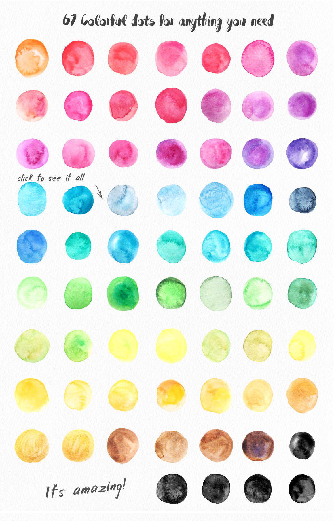 Big Watercolor Textures Pack example image 4