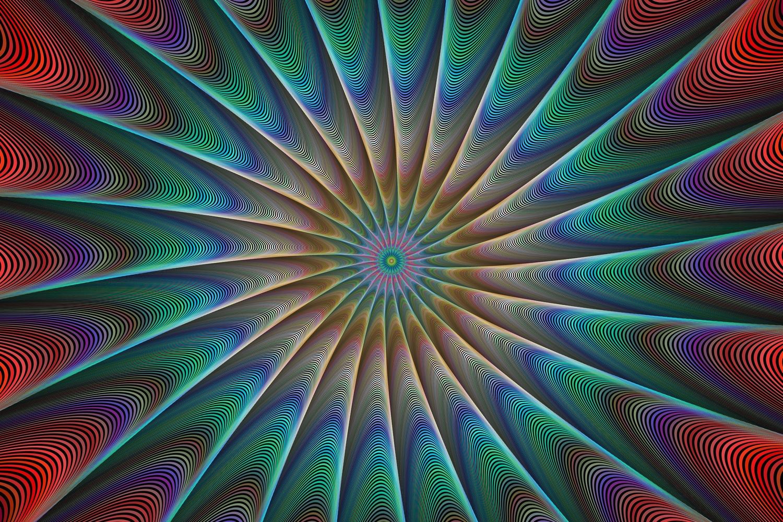 5 fractal design backgrounds (AI, EPS, JPG 5000x5000) example image 3