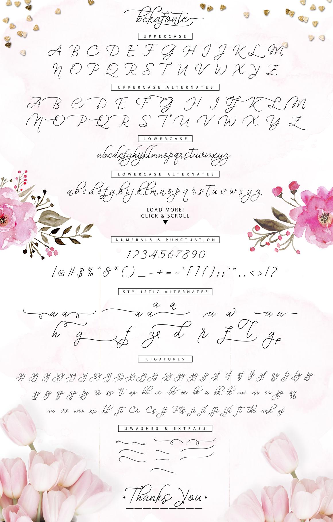 Bekafonte Typeface - New Update example image 6