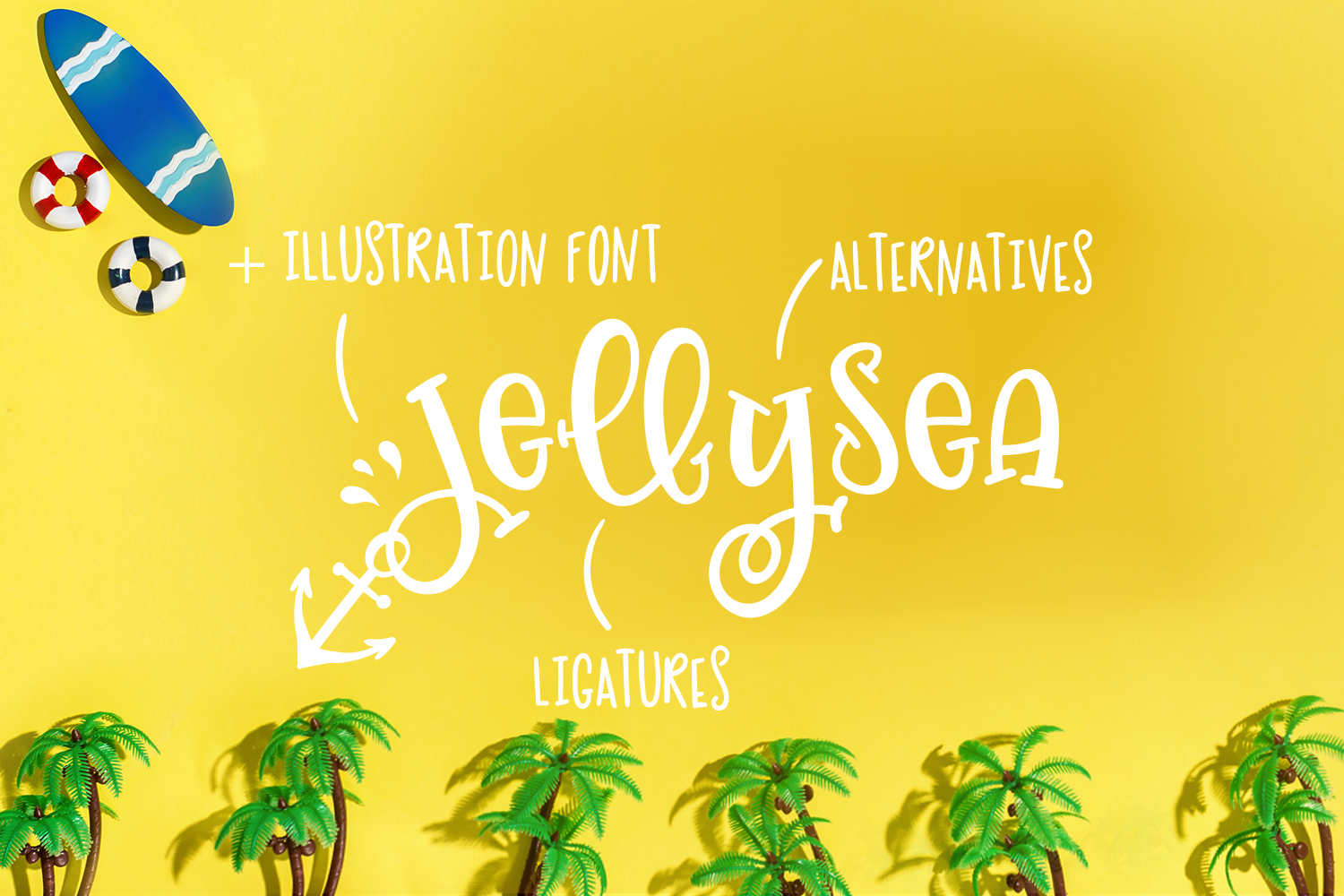 Jellysea - Font Duo + Summer Doodles example image 2