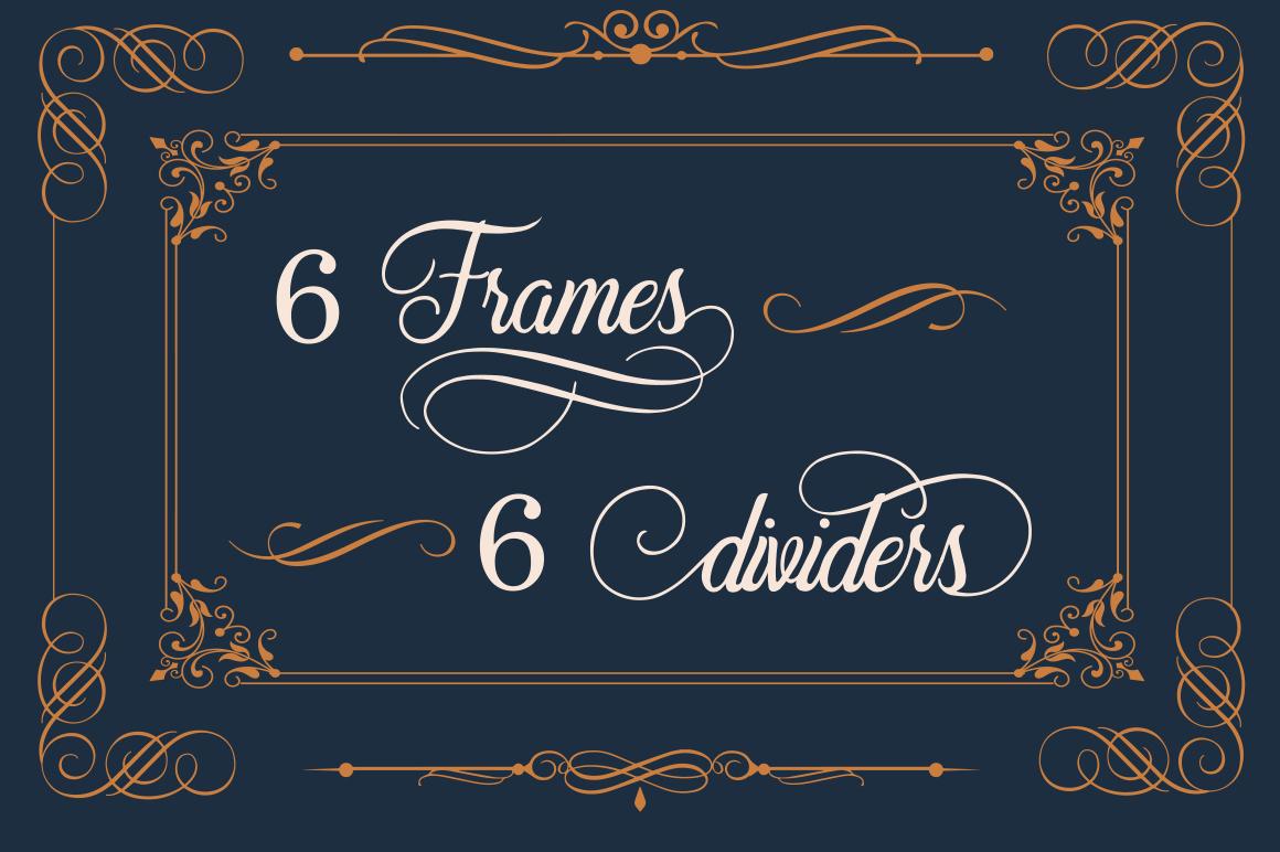 Beradon Script - Elegant Wedding font example image 7