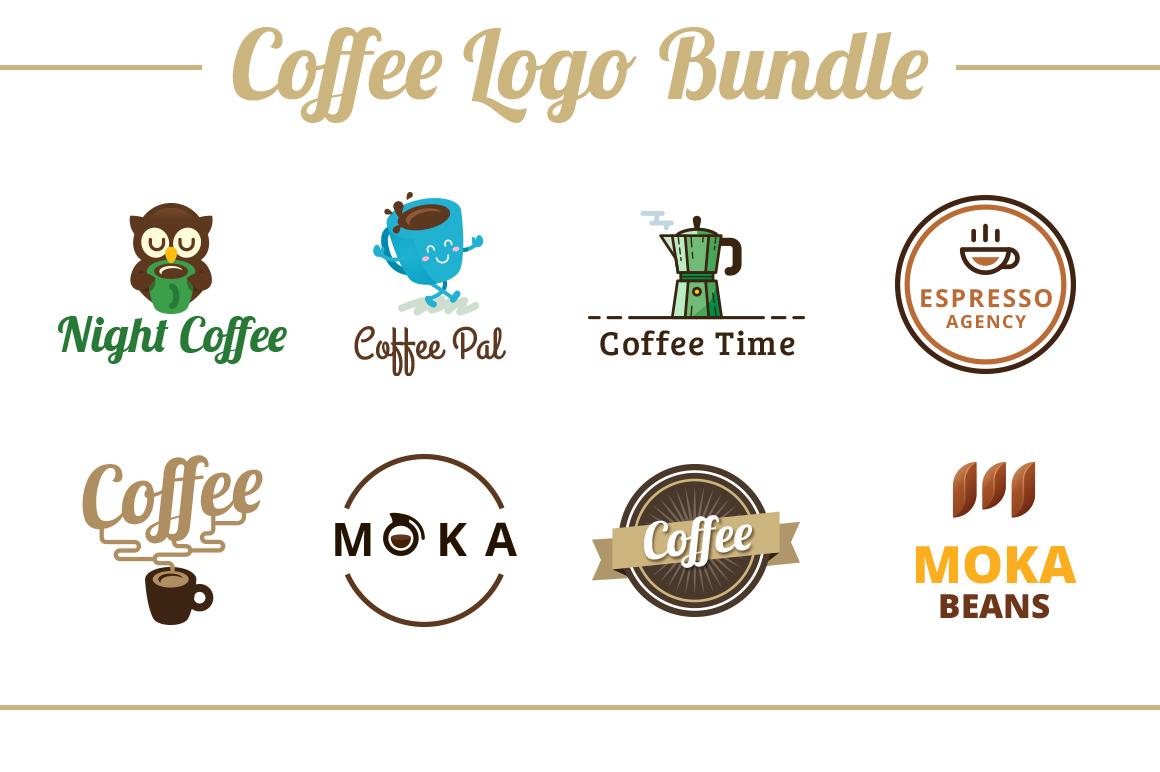 Coffee Logo Template Bundle example image 1