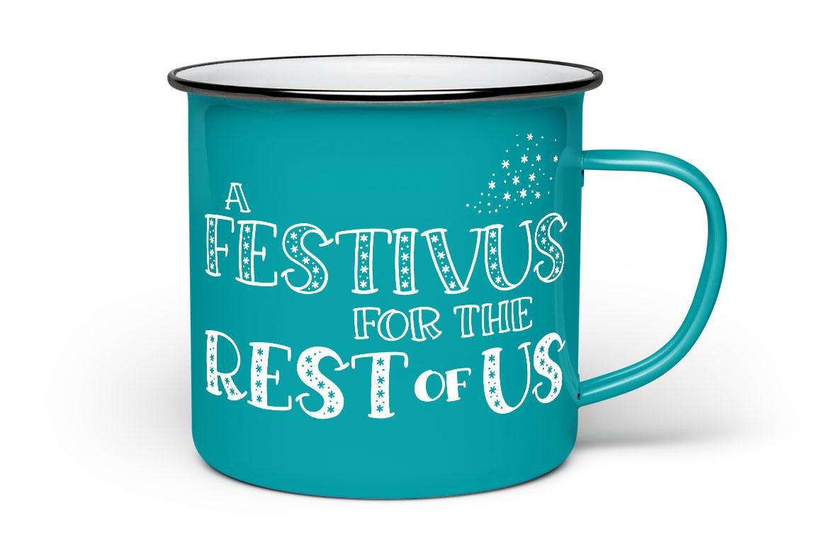 Big Freeze & Big Frost - Festivus coffee mug idea mockup