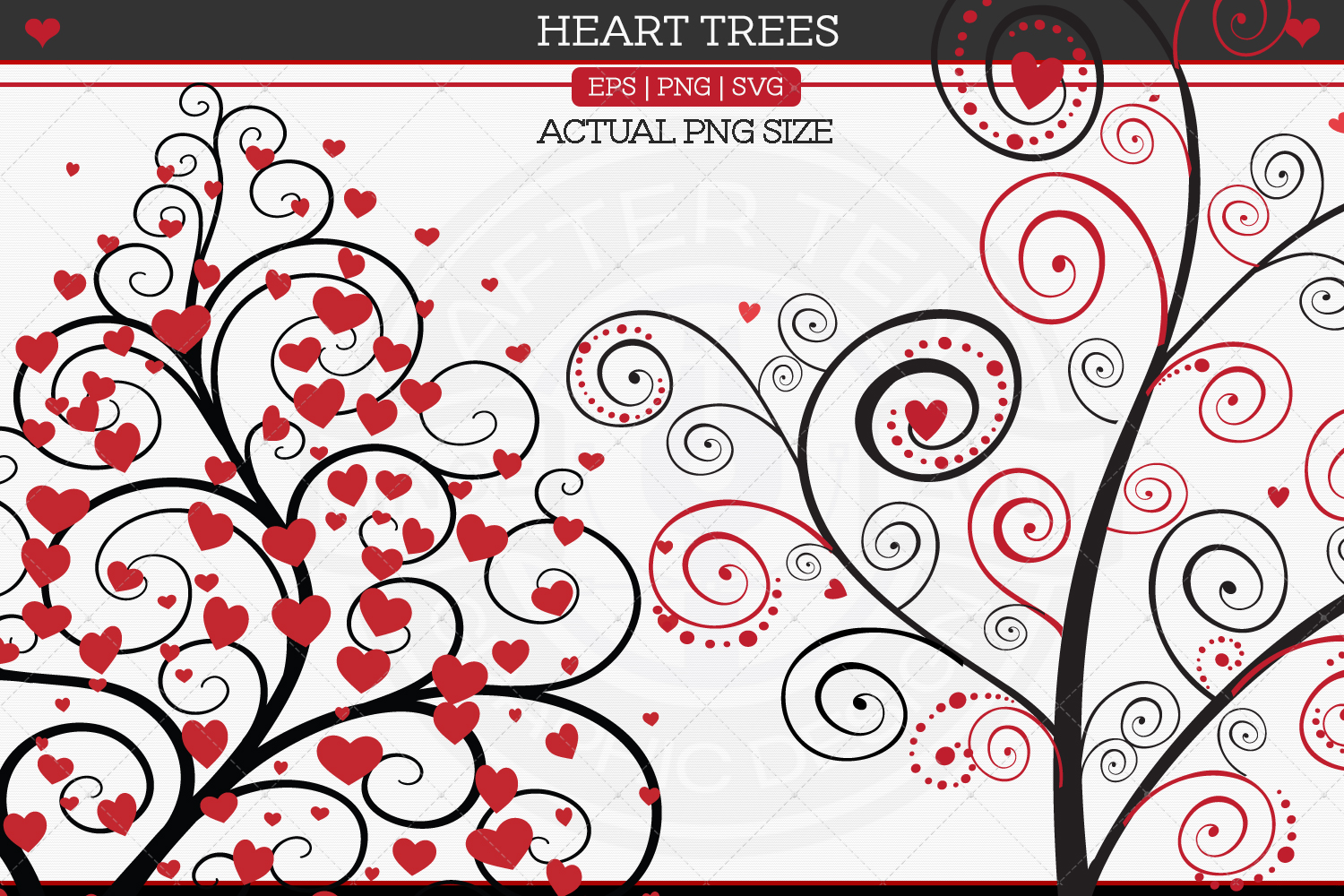 Heart Trees example image 3