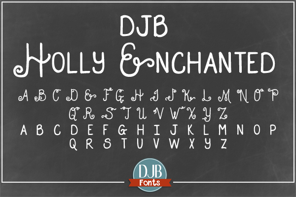 DJB Holly Sessions Font Bundle example image 3