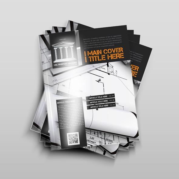 Multipurpose Magazine Template example image 2