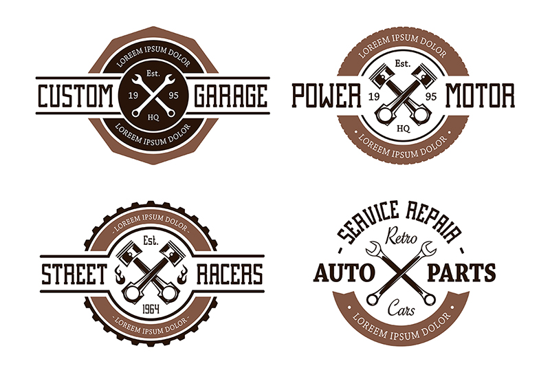 Vector Auto Emblems example image 1