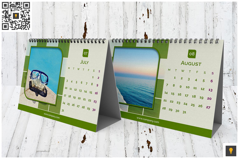 2017 Desktop Calendar example image 5