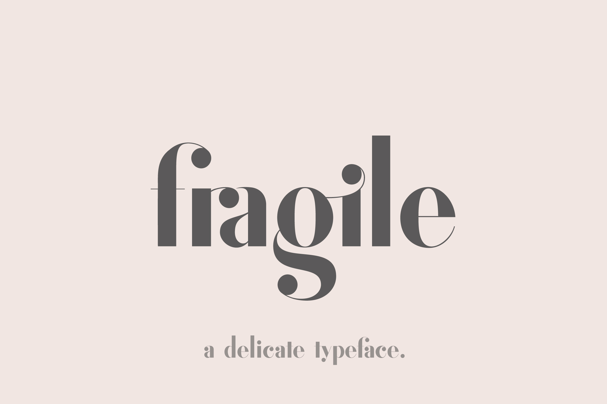 Fragile - A Delicate Typeface example image 1