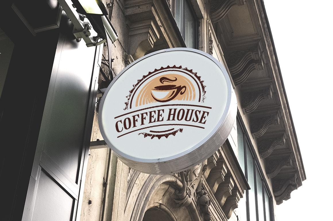 Retro Coffee Emblems #1 example image 2