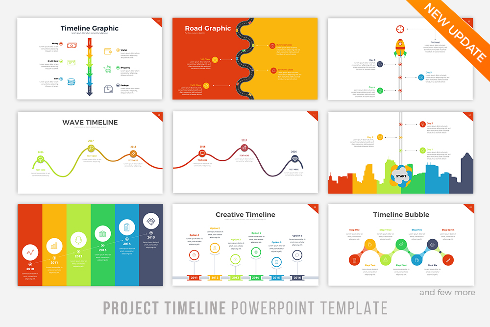 Project Timeline  Updated V By Brand  Design Bundles