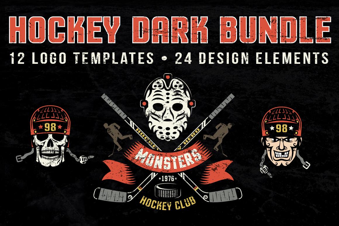 Hockey Dark Bundle example image 1