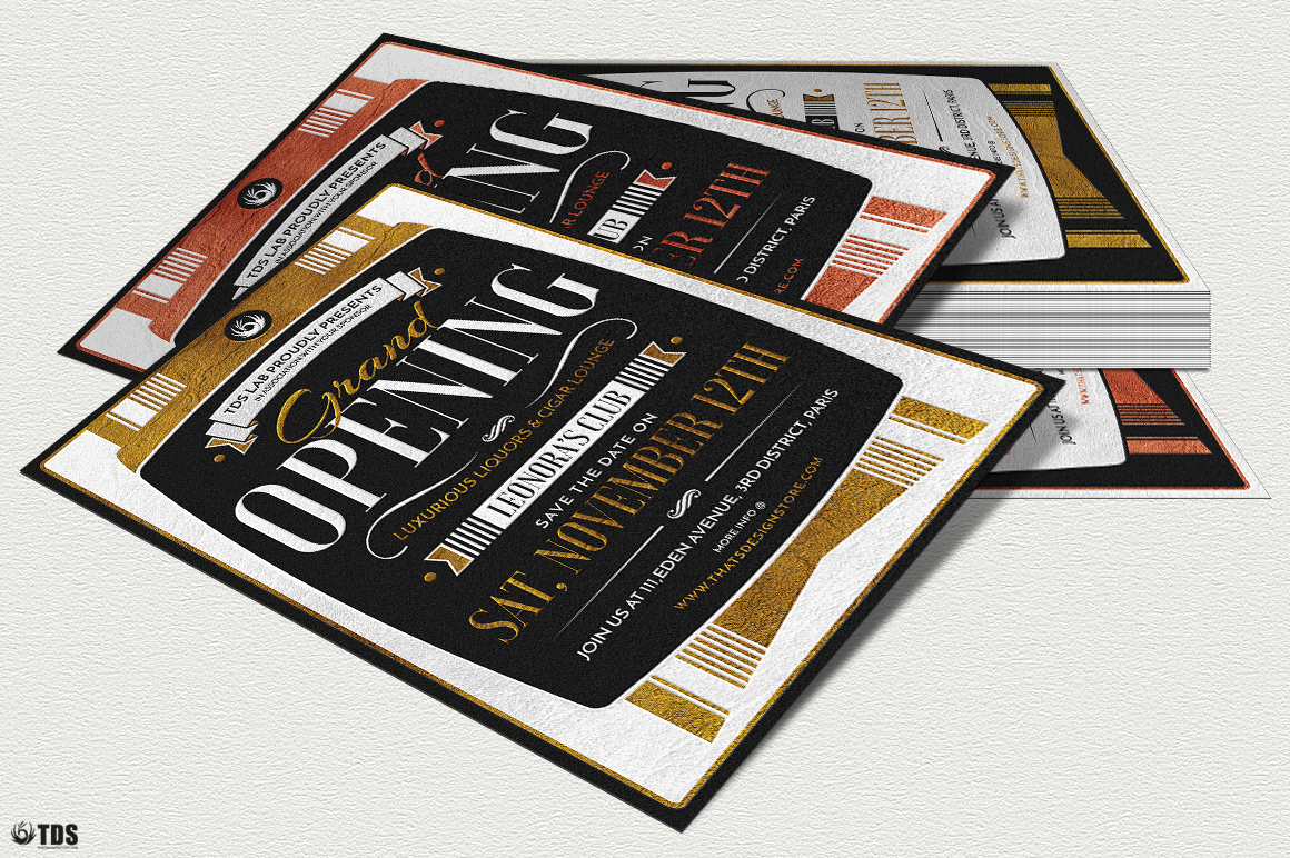 Grand Opening Flyer Template example image 5