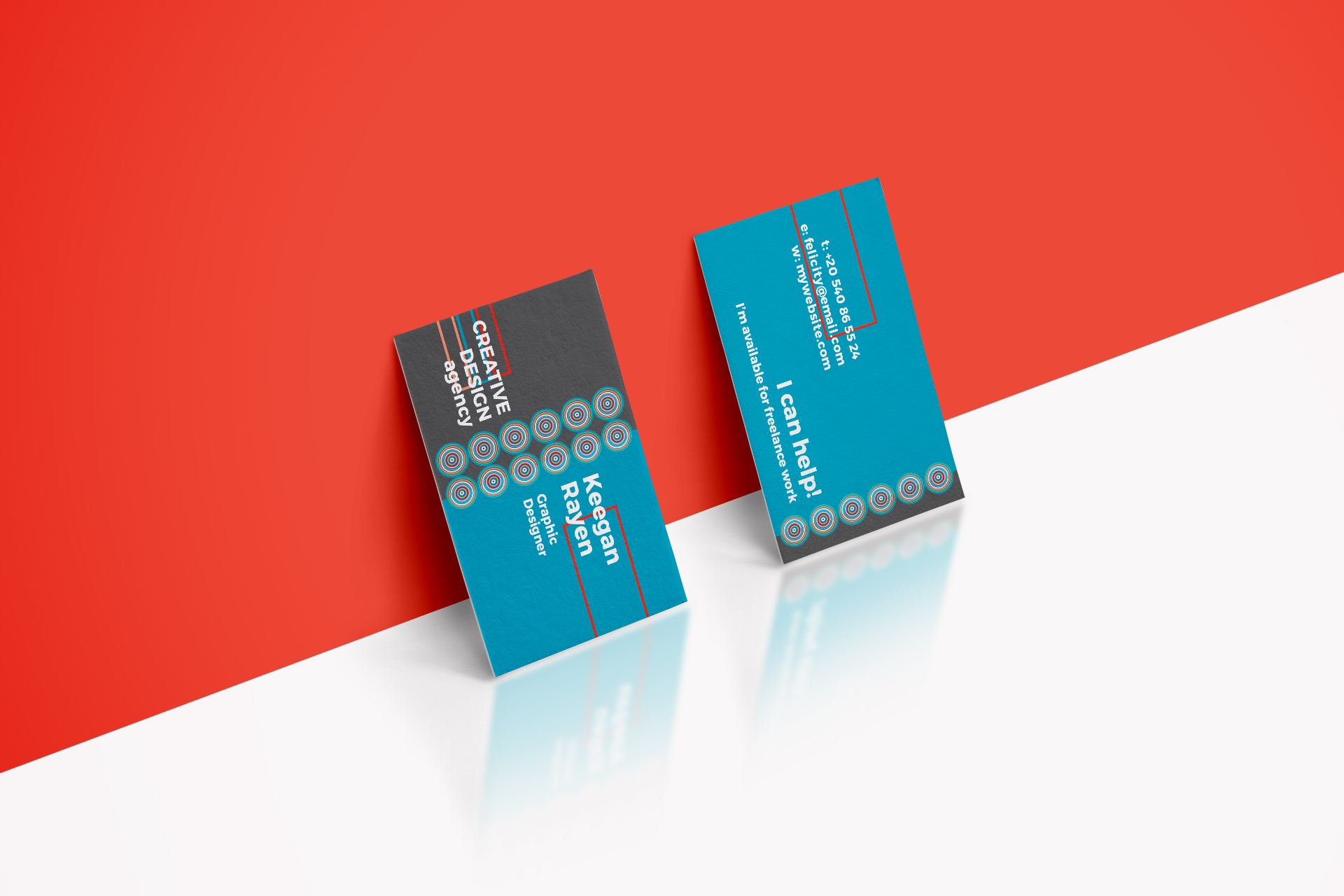 Creative design agency business card by design bundles creative design agency business card example image 5 reheart Gallery
