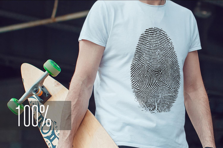 Men's T-Shirt Mock-Up Vol.3 2017 example image 14