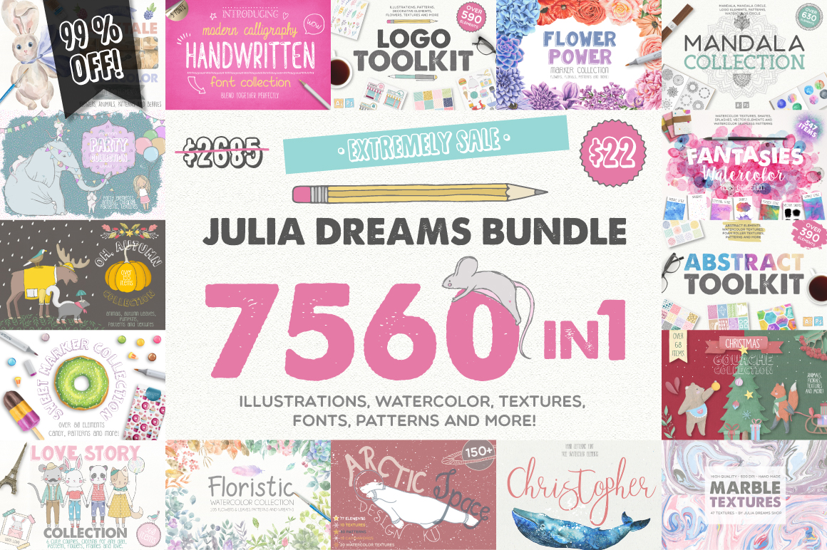 7560 in 1 - GRAPHIC BUNDLE - 99% OFF example image 1