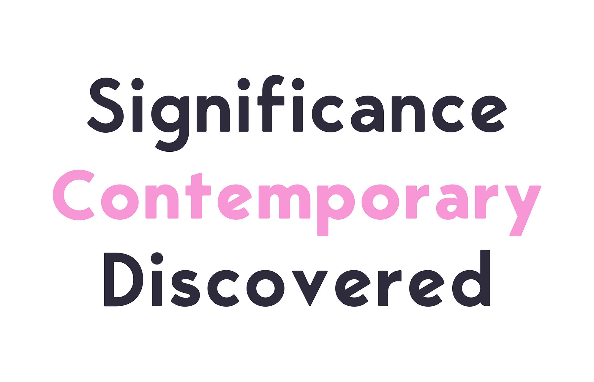 George Round  6 Fonts Round Edge Geometric Typeface example image 3