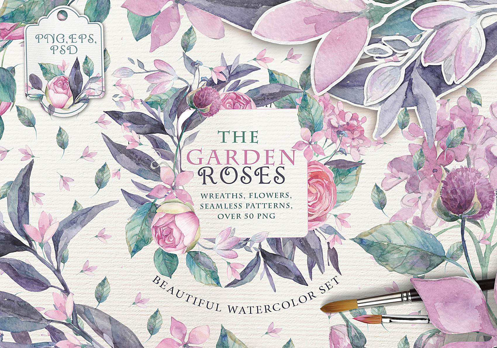 THE GARDEN ROSES example image 1
