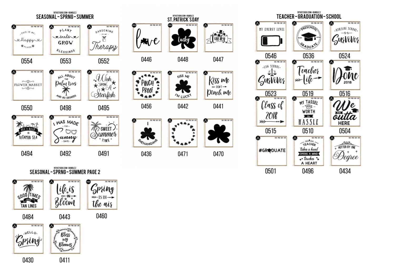 SVG Bundle 2 - 19thstudio example image 5