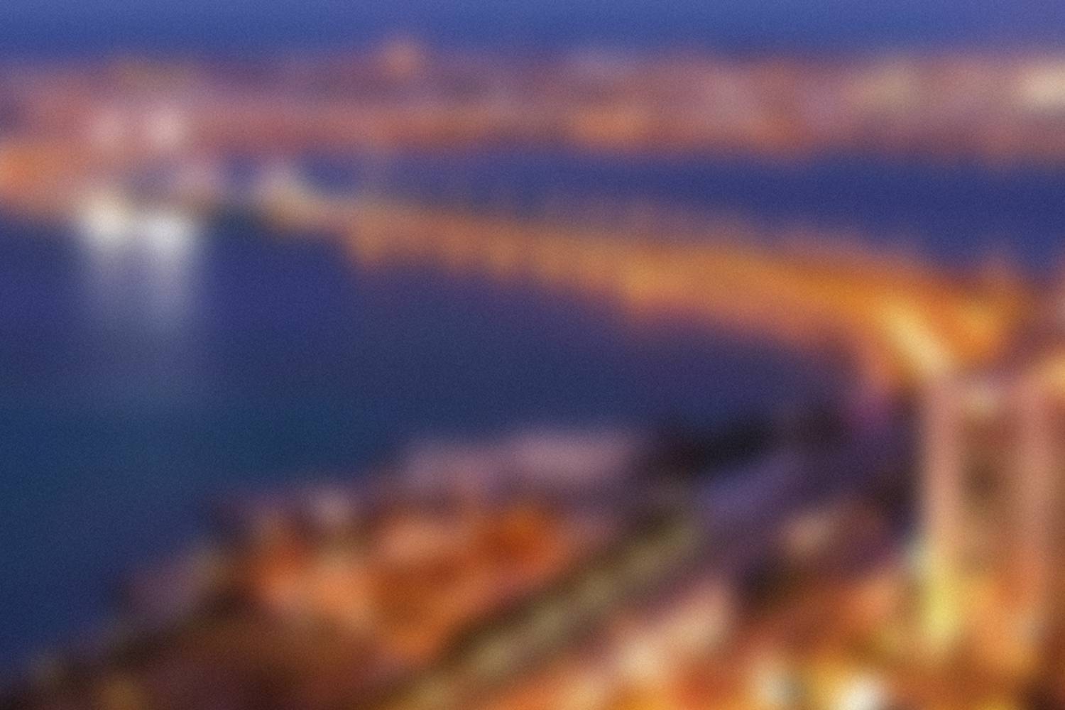 50 Blurred cities example image 2