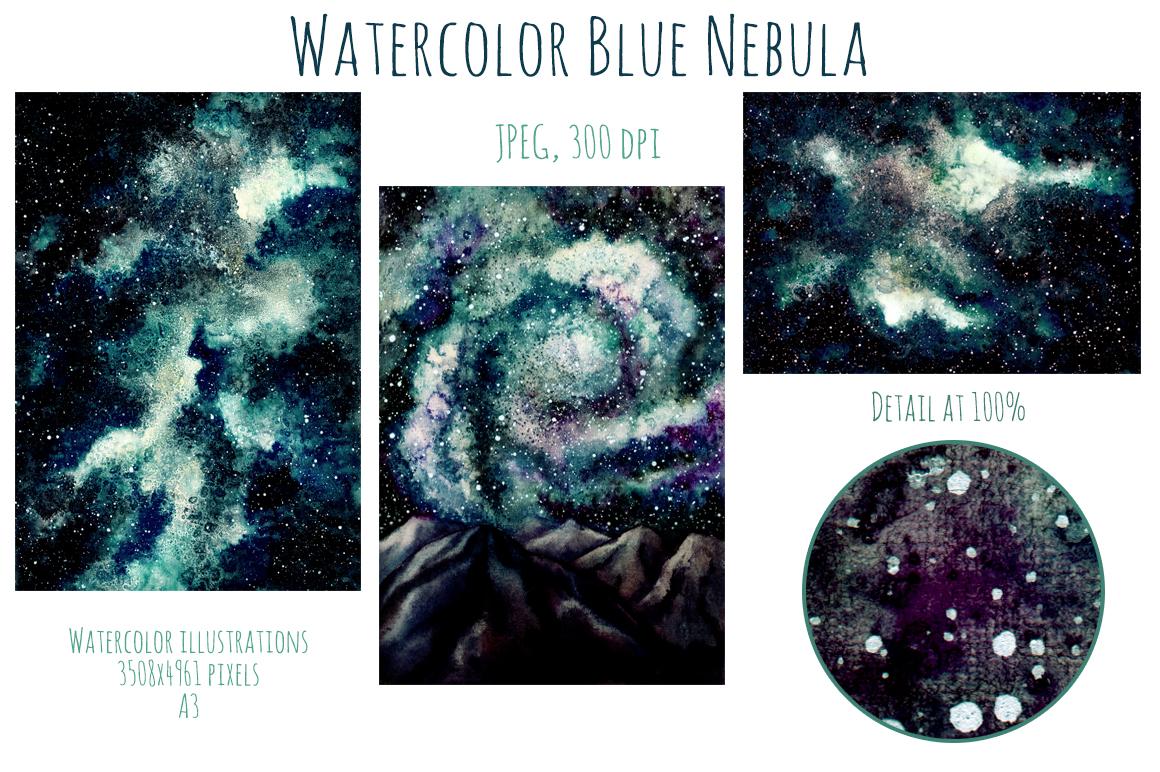 Blue Nebula Set example image 4