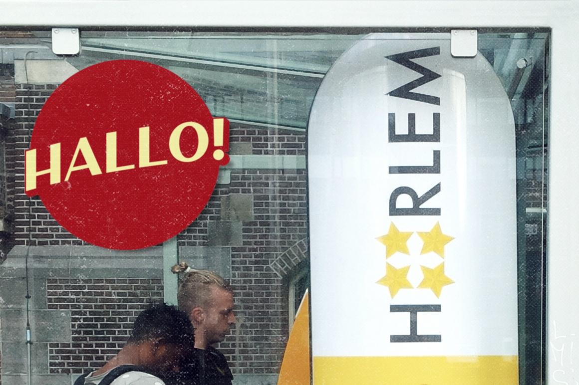 Haarlem Sans example image 3