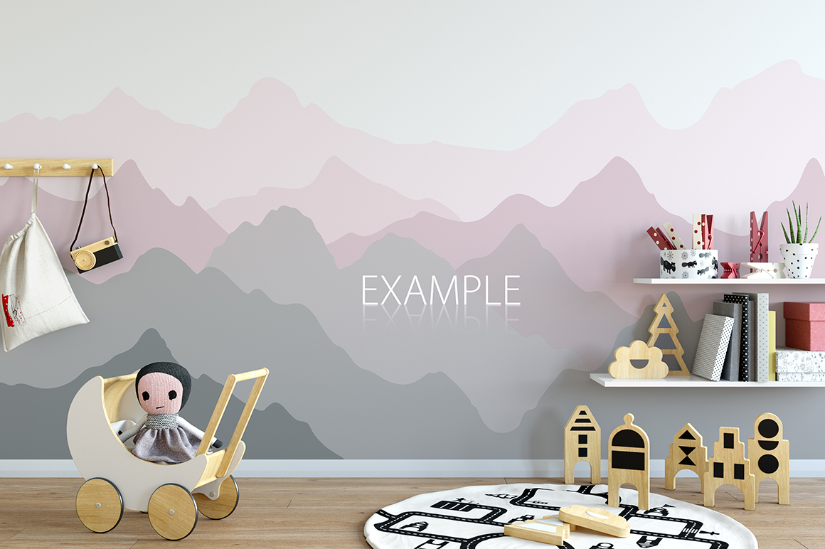 KIDS WALL & FRAMES Mockup Bundle - 2 example image 7