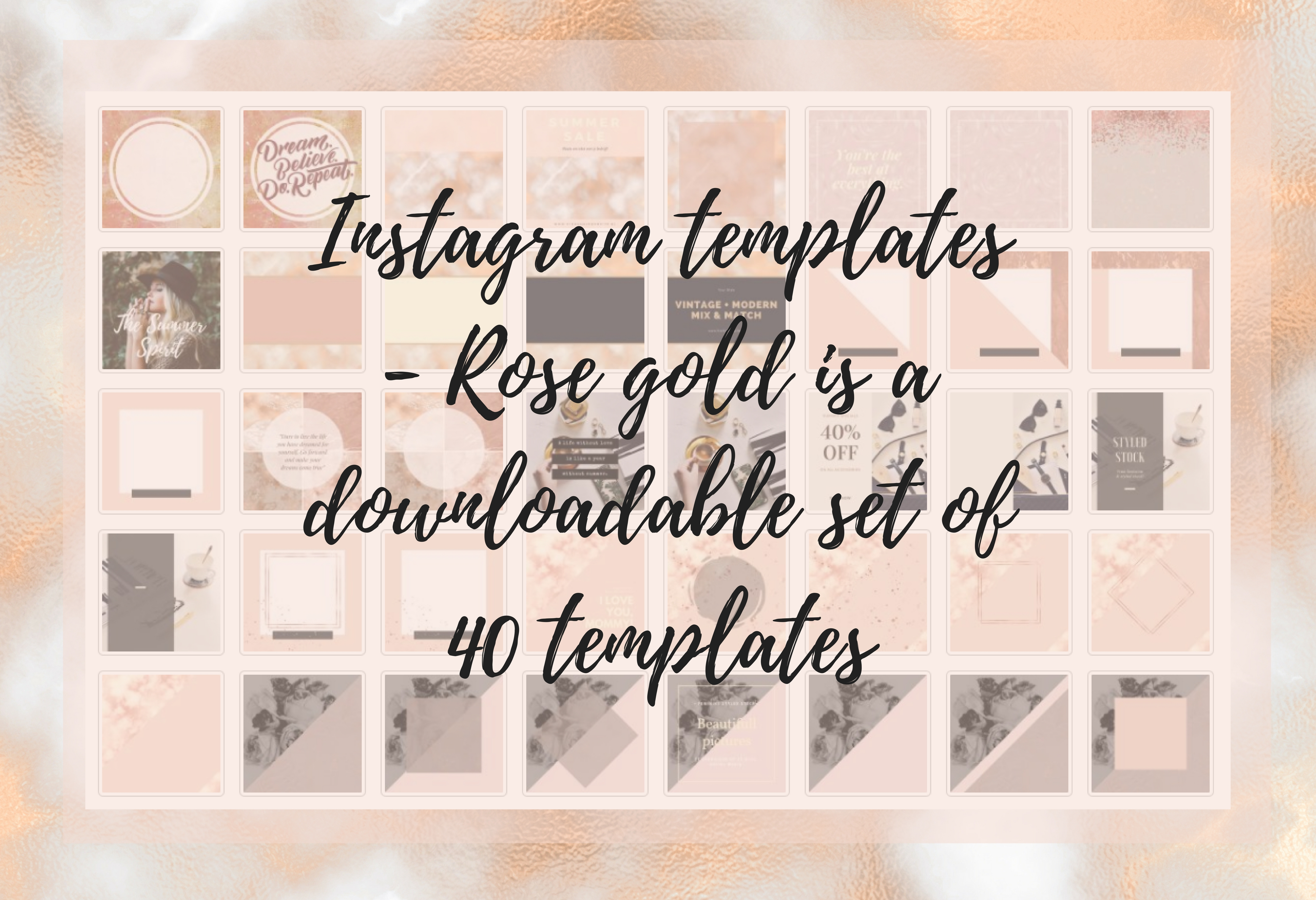 Instagram Rose gold part 1 example image 6