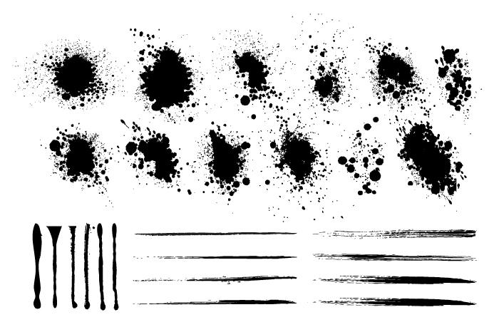 Grunge Design Elements example image 2