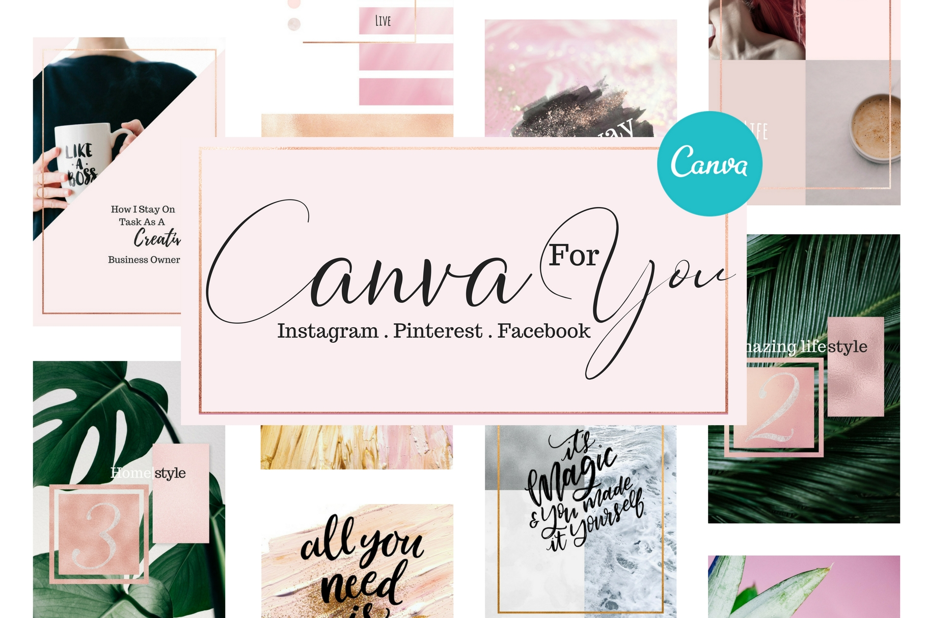 Canva for you - Social media example image 1
