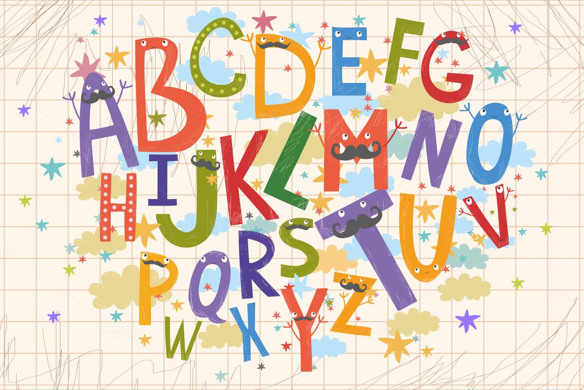 Alphabet for children vectorpng by l design bundles alphabet for children vectorpng example image 2 altavistaventures Gallery