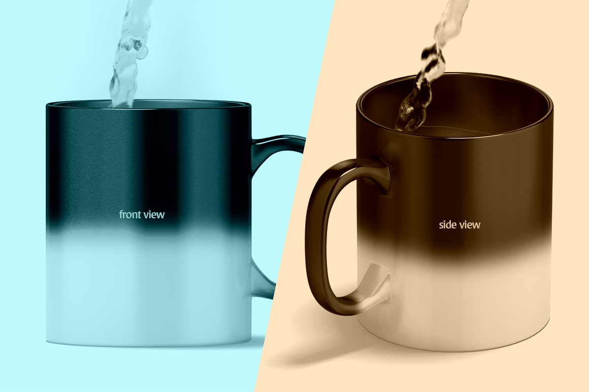 Magic Mug Animated Mock up (Color Changing Morphing Magical Mug Mockup) example image 7