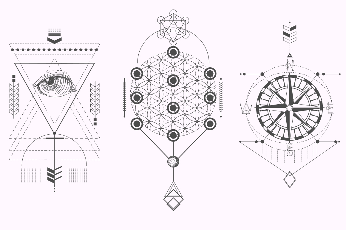 Sacred Geometry. Magic totem vol.2 example image 7