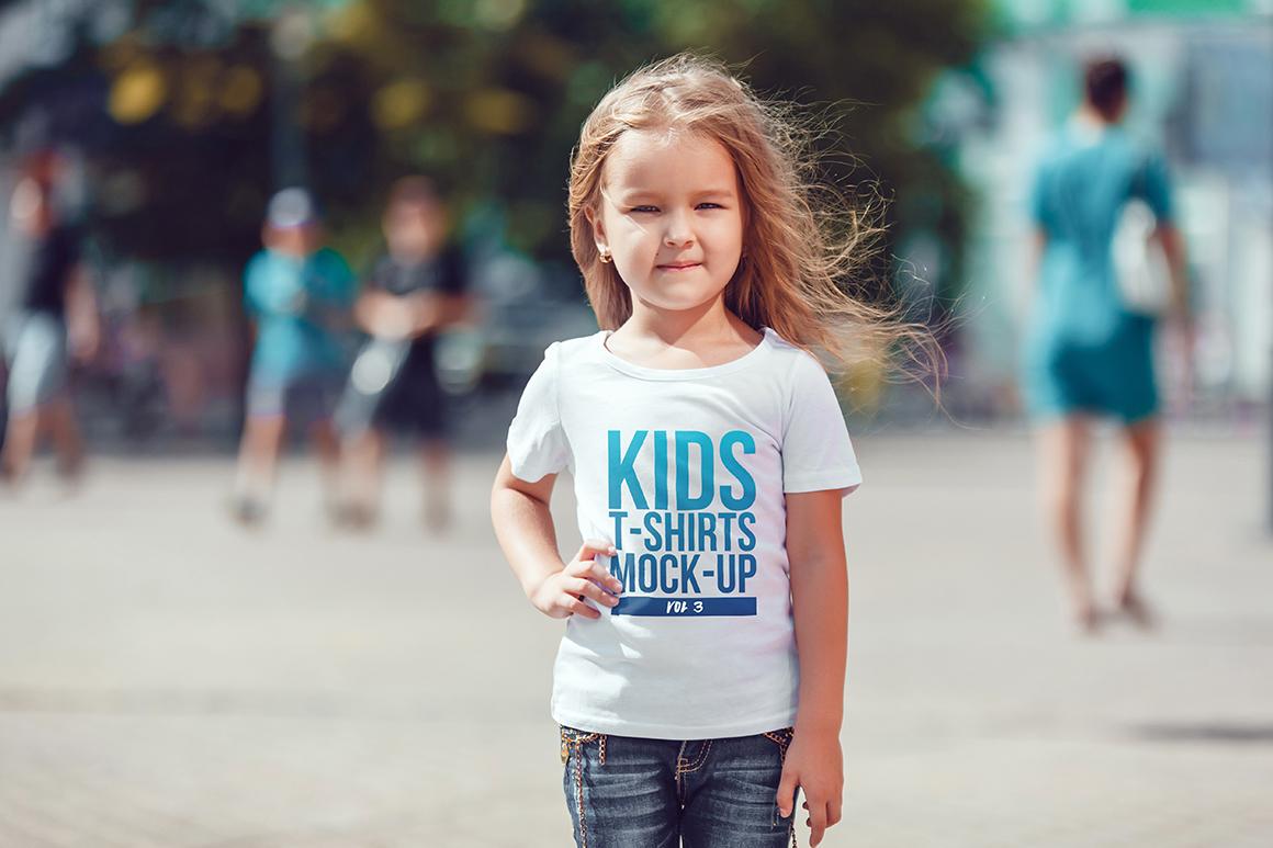 Kids T-Shirt Mock-Up Vol 3 example image 9