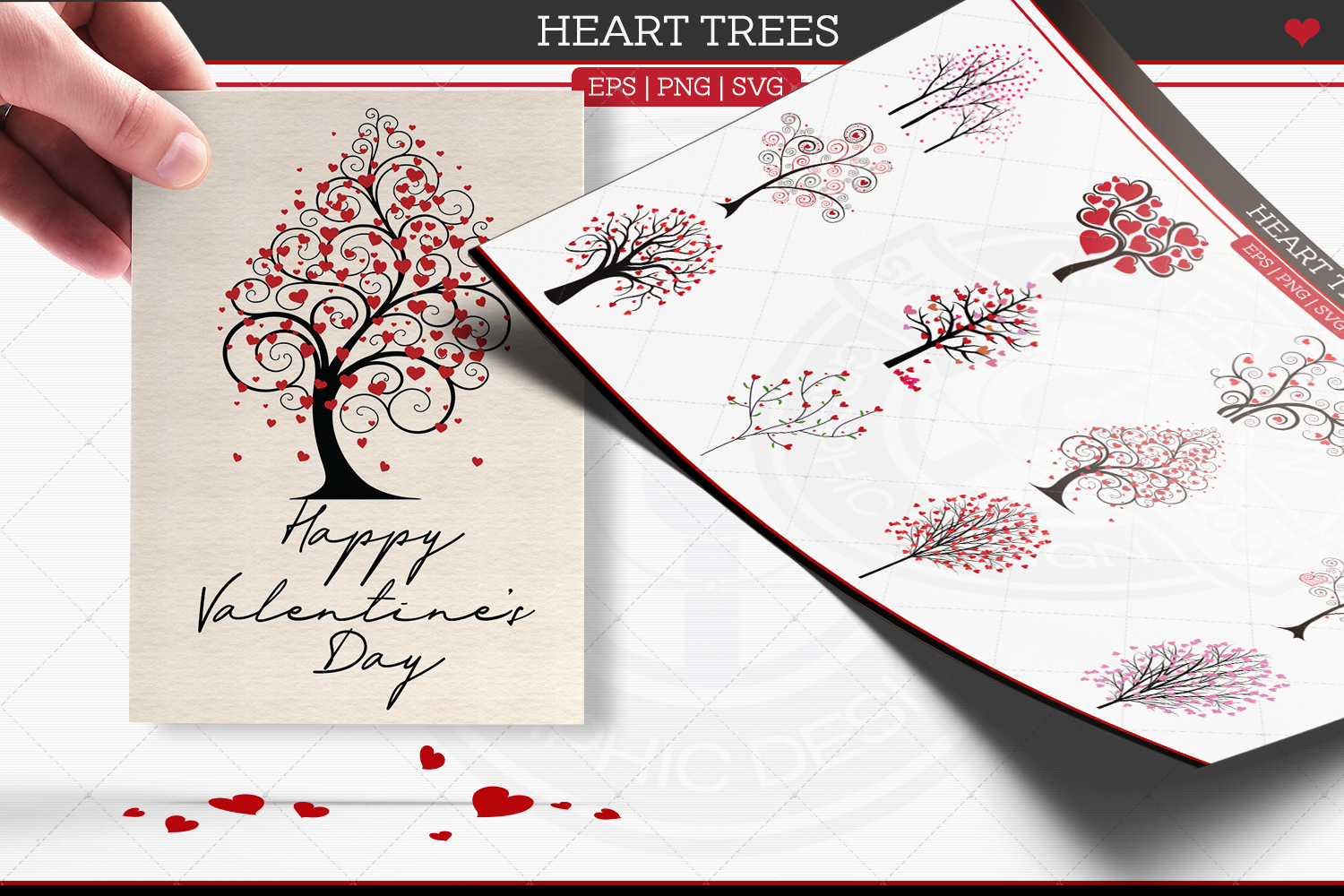 Heart Trees example image 1