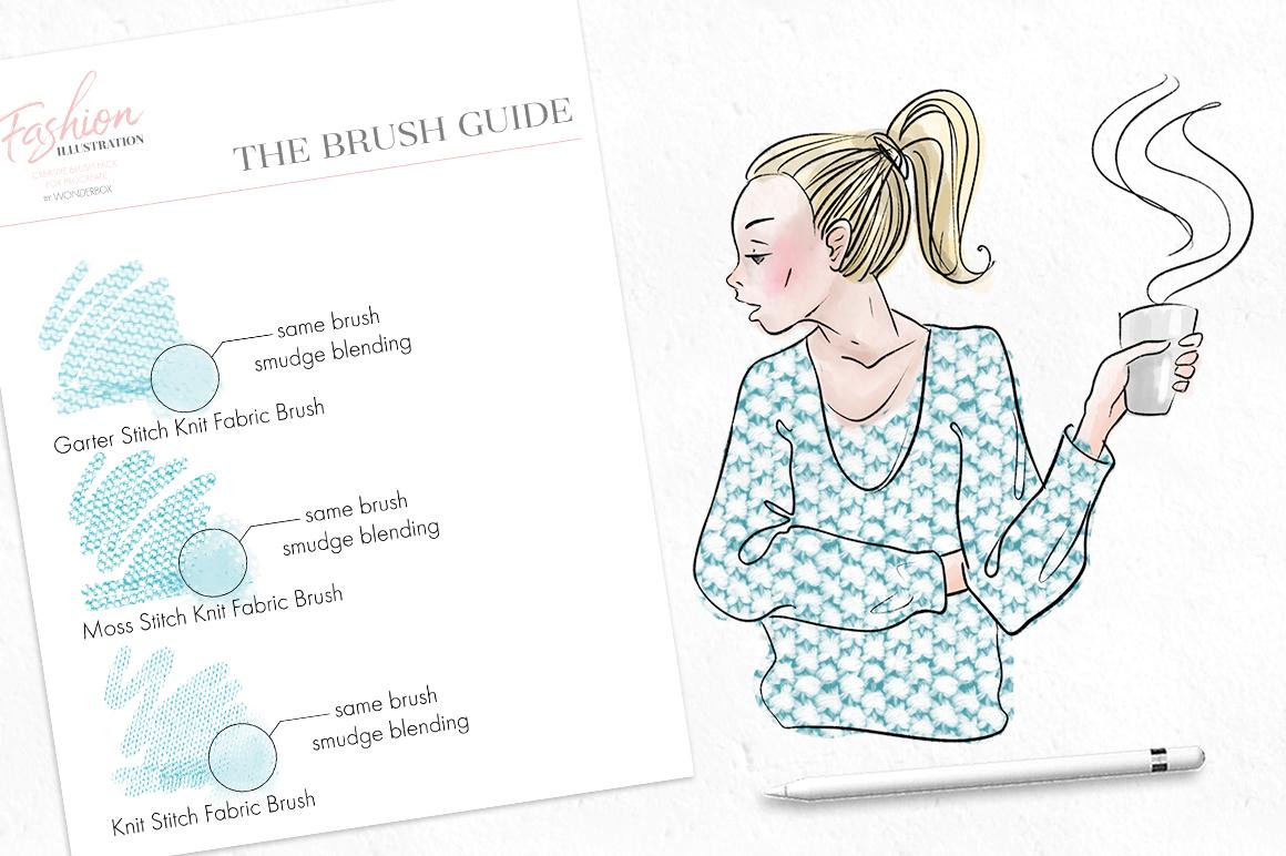 Fashion Illustration Brushes for Procreate example image 8