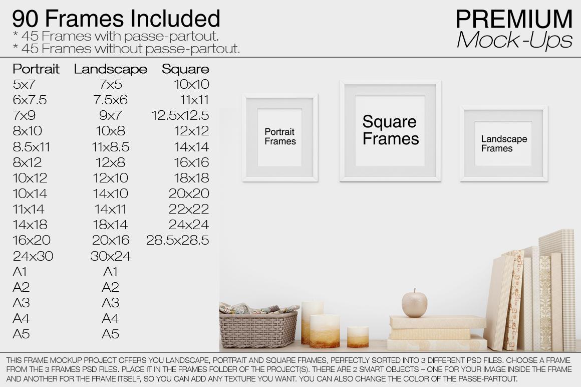 Frames by mockups   Design Bundles