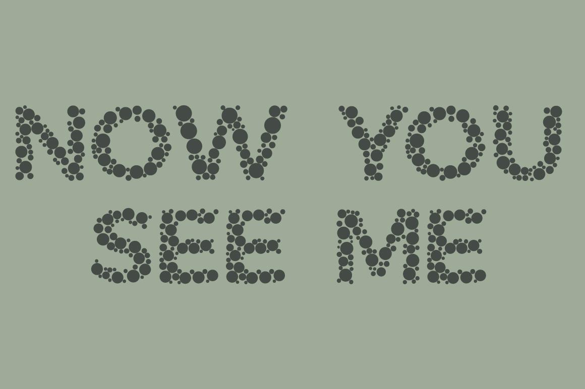 Color Blindness Test Typeface by BECRIS | Font Bundles