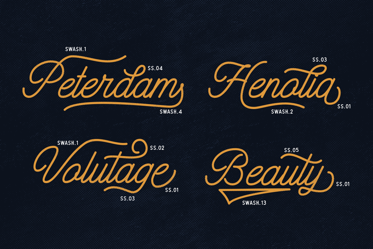 Hatterline Font + Sans example 9