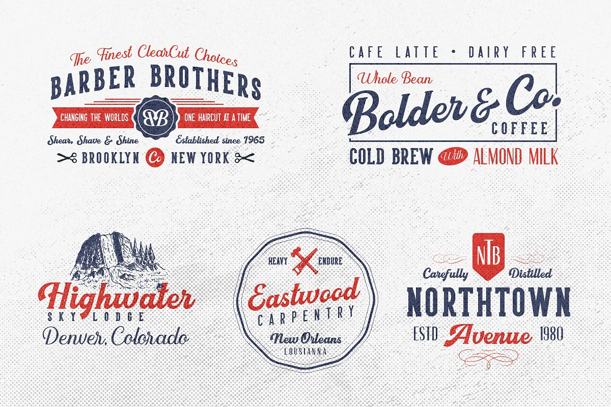 Harsey Type ToolBox (16 FONTS) example image 5
