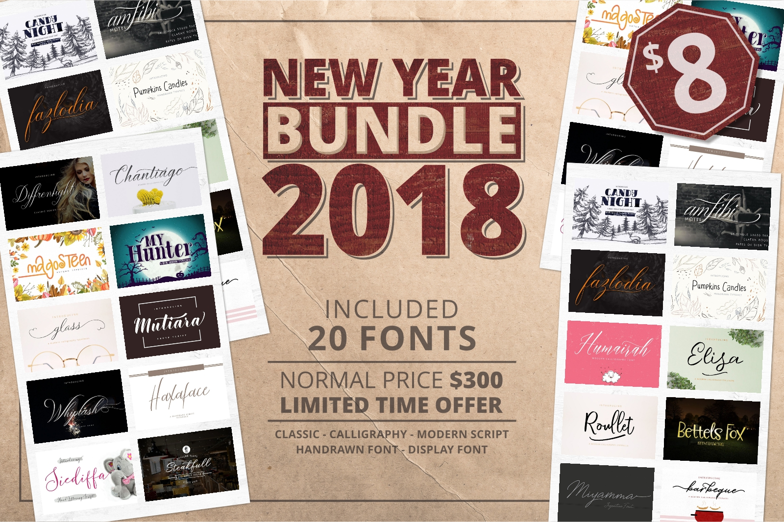 2018 New Bundle! Save 99% off the RRP example image 1