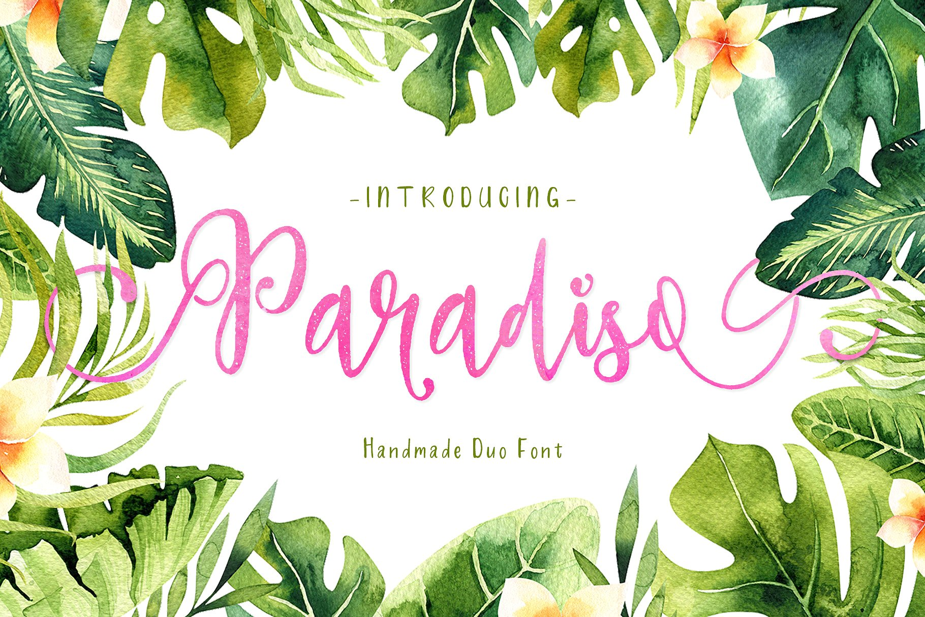 Paradiso - Fonts Duo example image 1