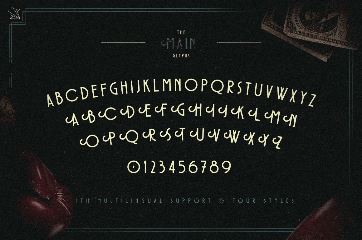 Prizefighter Display Font example image 3