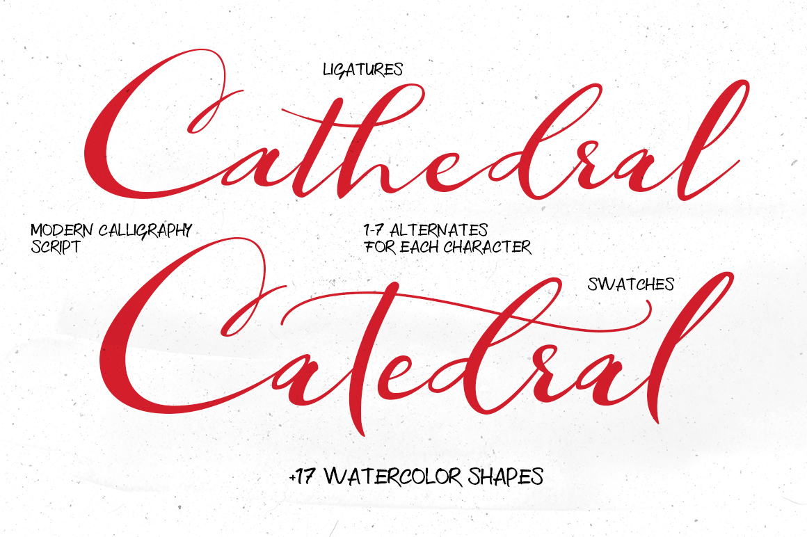 Catedral Script example image 5