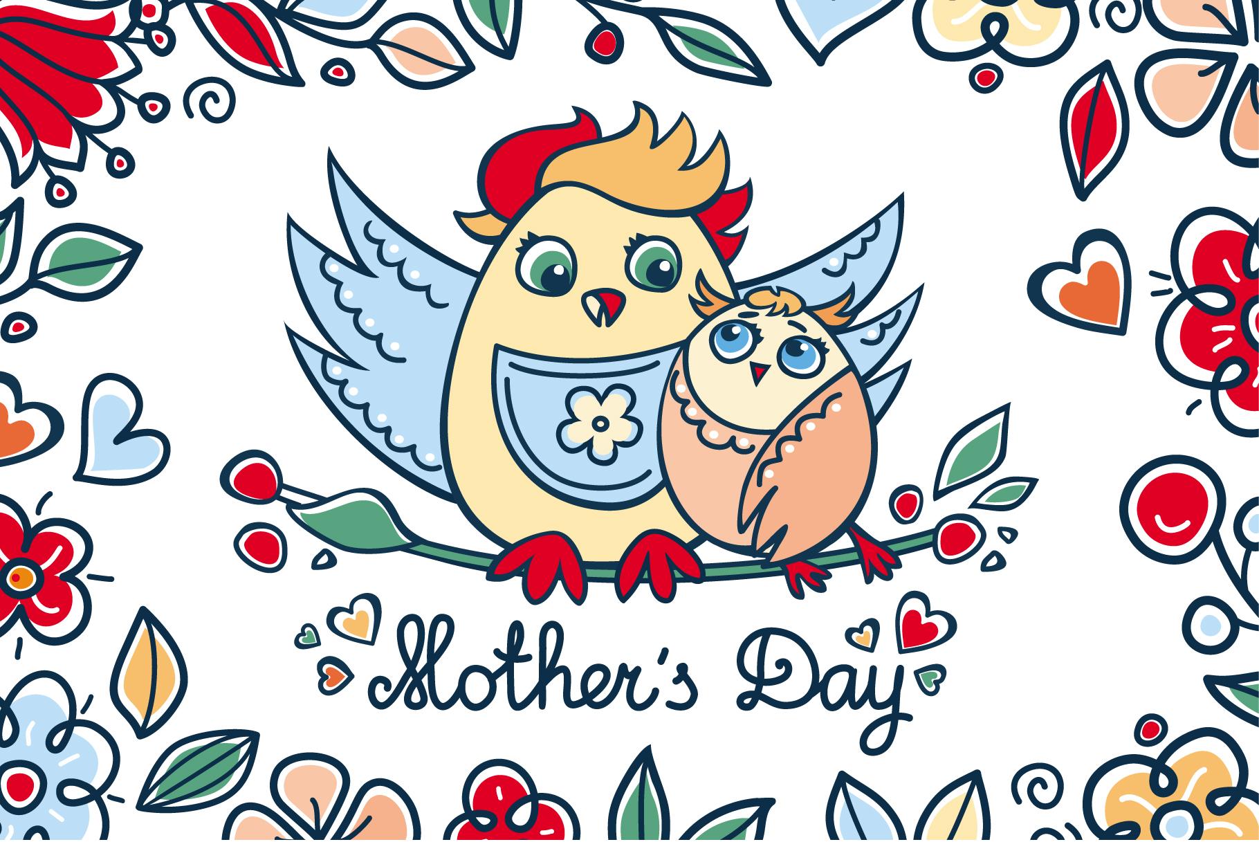 mother s day patterns postcards elem design bundles