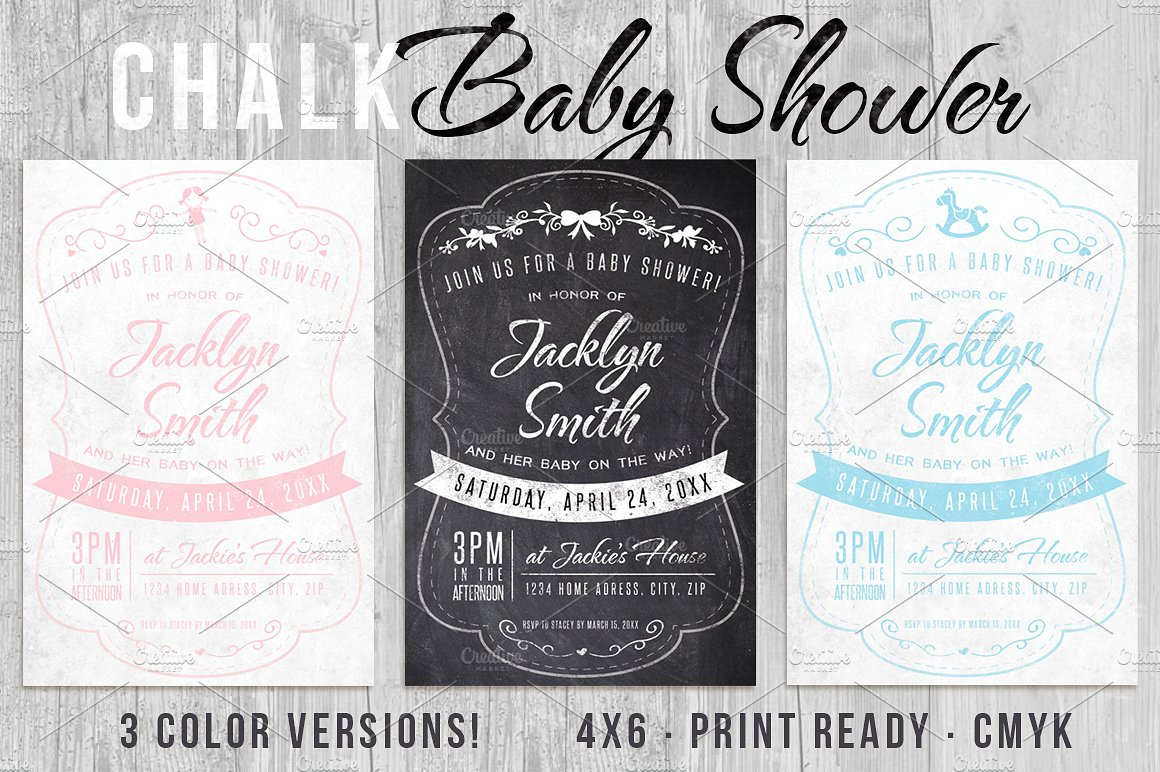 Massive Wedding Invite Bundle Flyer Save the Date Bridal Shower Party 60% Off example image 3
