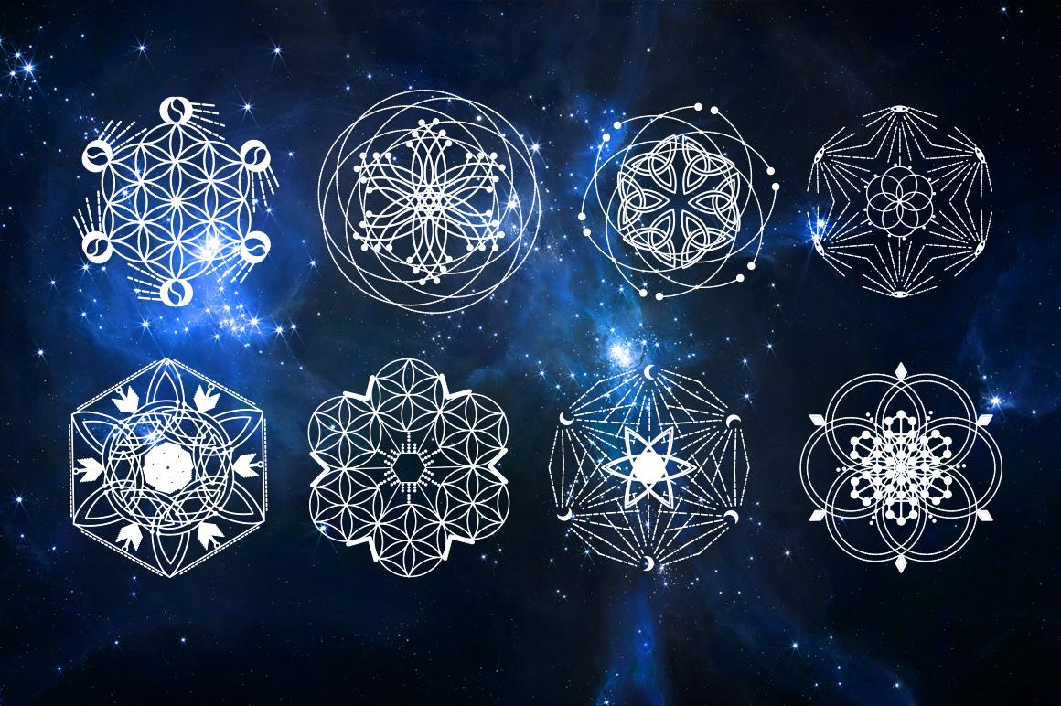 16 Sacred symbols  example image 4