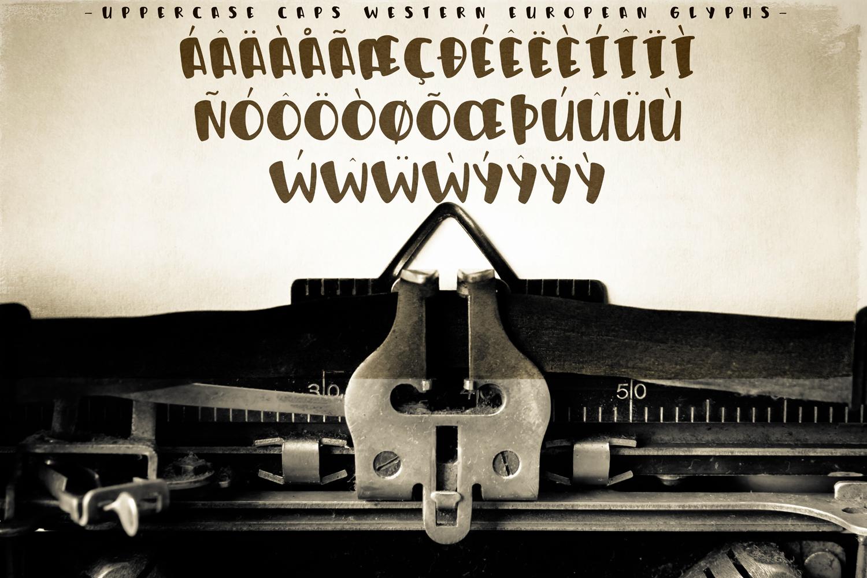 Humphrey Handwritten Font example image 3