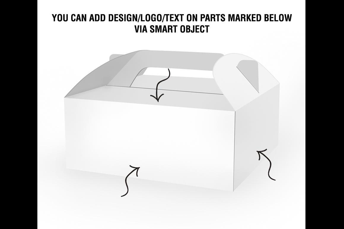 Cake Box Mockup example image 4