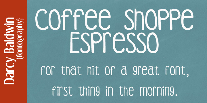DJB Coffee Shoppe Font Bundle example image 7